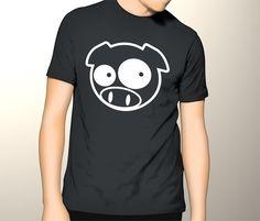 subaru+manga+pig+mascot+Men+Tshirt