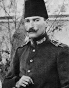 Kurmay Yüzbaşı Mustafa Kemal Libya Trablus - 26.09.1908