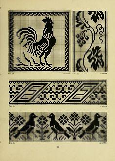 — The Priscilla filet crochet book, 1915 Part 5