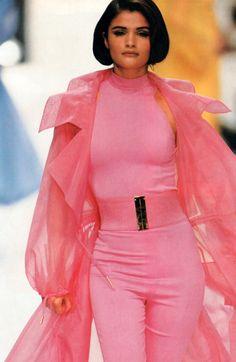 1992 - Claude Montana Show - Helena Christensen