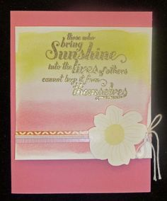 #stampin' up #2013 Spring Catalog #feels good