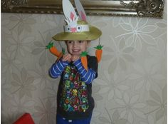 Still need to make your kids' Easter bonnets and bunny ears? Look no further for inspiration and instructions for quick and easy Easter hats in no time. Easter Arts And Crafts, Crafts For Kids, Easter Bonnets For Boys, Arts And Crafts Supplies, School Projects, Cool Kids, Costumes, Costume Ideas, Bunny