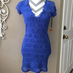 HPSpring Fling Free People Nightcap Lace Dress Gorgeous Nightcap blue deep V lace dress for Free People. The blue sold out twice. The dress speaks for itself!NWT. HP chosen by Kristin@kzamp 3/7 Spring Fling Party Check out Kristin's Beautiful closet! Free People Dresses Mini