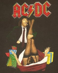 Vintage AC/DC Mistress for Christmas Tour Shirt.