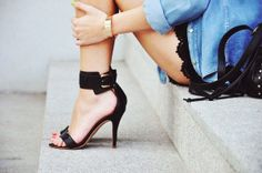{style inspiration : denim for days} by {this is glamorous}, via Flickr