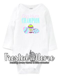Egg Hunt Champion Easter Shirt Girls Shirt Baby Girl Boys Shirt Baby Boy Girls Boys Shirt Toddler Easter Shirt Kids Easter Shirt