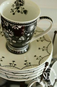 Lovely black and white  China