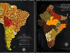 Got wanderlust? Eat your way around the world with these gorgeous food-filled maps - TODAY.com
