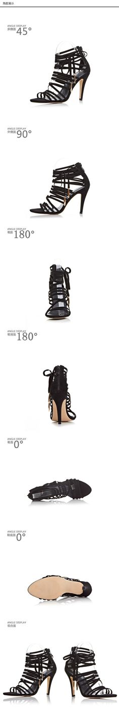 hot sale sexy open toe women sandals gladiator lace up high heel sandal boots stiletto heels strappy pumps summer shoes woman | #STRAPPYHIGHHEELS