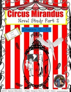 "Here is the next installment in my Circus Mirandus Novel Study (Covers Chapters 13-24 ONLY!!!!)Please take the time to look over the preview so you can get a sense of what is included.  Also, there is a stand alone extension activity included for a STEAM ""build a cage-free zoo/exhibit informational text and 4th grade math standard for area and perimeter.Index. . . . . . . . . . . . . . . . . . .  2Overview. . . . . . . . . . . . . . . .  3Instructions. . . . . . . . . . . . . .  4Possible…"