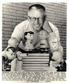 Charles Schulz and friends