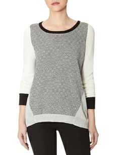Rippled Texture Sweater