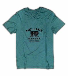 Green Mellark Bakery T Shirt SXXL by StudioVim on Etsy, $16.00