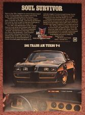 Pontiac Firebird Trans Am Turbo . my ALL TIME favorite muscle car! Peugeot 204, Pub Vintage, Pontiac Cars, Pontiac Firebird Trans Am, Car Advertising, Us Cars, Sport Cars, Old Ads, General Motors