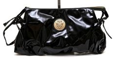 Gucci Black Patent Leather HYSTERIA Clutch Wristlet Oversized Purse Gold HW $995 Shop it now on: http://ebay.to/1Nn44ll  #www.evesher.com #Gucci #LouisVuitton #LV#Chanel#clutch#wristlet#backpack#bag #handbag #style#trend #fashion #highfashion#designer #french#frenchfashion #nyc #tokyo#leatherbag #purse #ootd#fashionista #gucci#fendi #ebay #consignment#consign#thrift#love