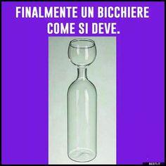 Finalmente un bicchiere | BESTI.it - immagini divertenti, foto, barzellette, video