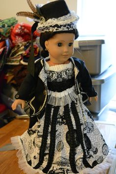 American Girl doll clothes Steampunk Victorian by hudathotjewelry