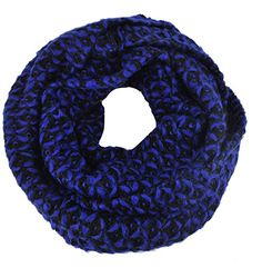 Blue Black Colour Block Soft Knitted Cosy Snood Cowl Loop Tube Scarf Gorgeousgalz http://www.amazon.co.uk/dp/B016YSICGK/ref=cm_sw_r_pi_dp_ytmrwb0T5V9P0