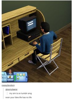 These Sims memes prove that everything is funnier when it's not constrained by the confines of reality, logic, or physics. Sims Memes, Dankest Memes, Funny Memes, Sims Humor, Harry Potter Humor, Montessori Baby, Steve Rogers, Pretty Little Liars, Funny Cute