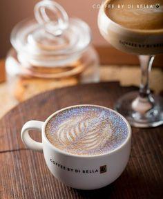 I want! Glitter cappuccino!