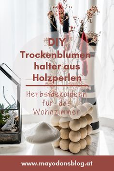 Diy Upcycling, Diy Hacks, Beautiful Flowers, Halter, Blog, Interior, Plants, How To Make, Autumn