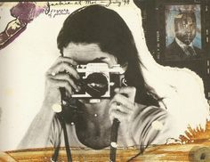 Jackie Kennedy by Peter Beard - 1971