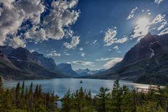 Saint Mary Lake by Markus Resch, via 500px