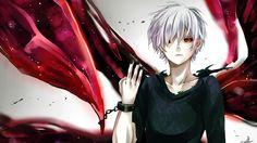 Kaneki Ken Kagune White Hair Tokyo Ghoul Anime Tlvampire 1440x900