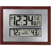 Better Homes and Gardens Atomic Clock with Forecast, Silver Patio Design, Diy Design, Atomic Time, Ikea Garden Furniture, Garden Clocks, Moon Phase Calendar, Daylight Savings Time, Indian Home Decor, Better Homes And Gardens