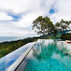 Time for a dip! #pool #costarica #sustainablestyle