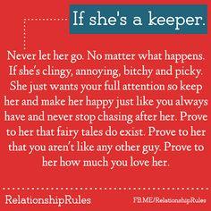 (1) Relationship Rules | via Facebook