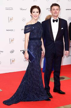 Crown Princess Mary of Denmark received a Bambi Award for her charity work