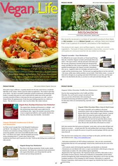 """""""Vegan for Life"""" magazine tests & reviews MuLondon products in a 3-page spread! """"The scent is divine, with the soft notes of lavender and the top note of rosemary essential oil that just sharpened the senses, and filled me with a sense of optimism. The result is a glow like never before - the skin is nourished, elasticated, properly moisturised, and beaming with health.""""  Get MuLondon products: http://www.MuLondon.com  #MuLondon #vegan #skincare #beauty #magazine #press #review #VeganForLife"""