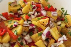 No Bake Recipes * Grilled Chicken with Pineapple Salsa Mexican Food Recipes, Whole Food Recipes, Vegetarian Recipes, Healthy Recipes, Ethnic Recipes, Mexican Meals, Healthy Food, Grilled Pineapple Chicken, Grilled Chicken