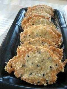 Faites vos propres biscuits apéro : Crackers à la tomme de savoie | A la table de Gaelle | Bloglovin'