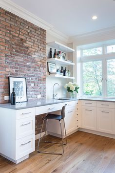Park Slope Brick Townhouse Home Office
