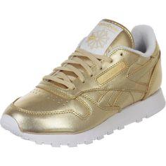 Für den glänzenden Auftritt: diese goldenen Sneakers von Reebok sind ein echter Hingucker!