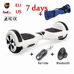 [ $36 OFF ] Speedway Two Wheels Self Balancing Scooter Bluetooth Hoverboard Remote Smart Balancing Wheel 6.5 Inch Mini Electric Skateboard