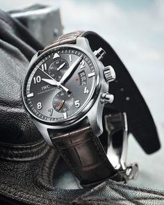 IWC Schauffachen Chronograph titanium