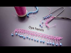 Boncuklu firkete oyası yapılışı - YouTube Hairpin Lace Crochet, Crochet Motifs, Viking Tattoo Design, Viking Tattoos, Pottery Angels, Fitness Tattoos, Sunflower Tattoo Design, Homemade Beauty Products, Foot Tattoos