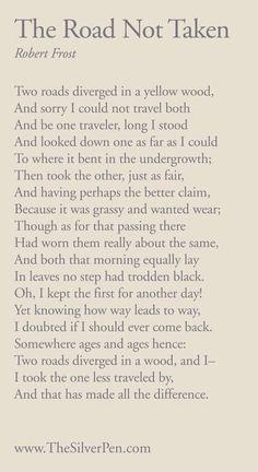 Love Robert Frost