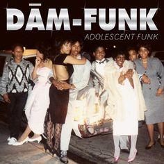 DaM-FunK - Adolescent Funk on 2LP