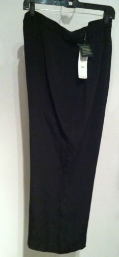 NWT Ralph Lauren $149 Black Silk Dress Pants Plus Size 20W + Free Gift Bag!  eBay $59.99