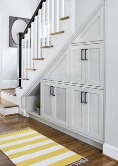 Under stair cabinet designs magnificent cabinet under stairs design Stairway Storage, Stair Shelves, Storage Stairs, Storage Shelves, Small Storage, Diy Storage, Under Stair Storage, Shelves Under Stairs, Closet Storage