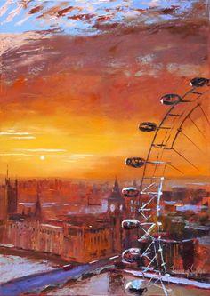 Jeremy Sanders - The London Eye