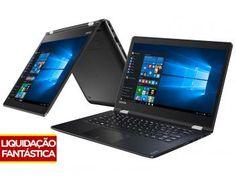 """Notebook 2 em 1 Lenovo Yoga 510 Intel Core i3 - 6ª Geração 4GB 500GB Tela 14"""" Touch Screen"""