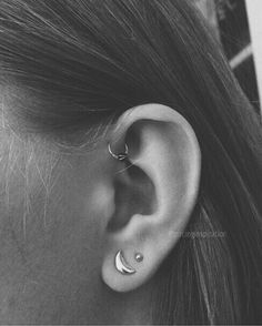 so psyched to get my single forward helix done :))) More