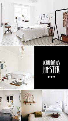 hipster simplicity. id add a little wall color but I LOVE the room set up