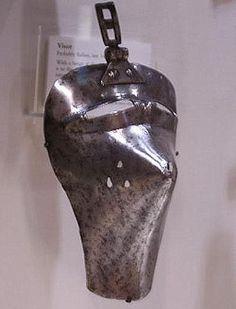 Visor, Royal Armouries, Leeds  1350-1380 ref_arm_4208