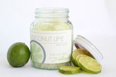 DIY Coconut Lime Foot Scrub - Ma Nouvelle Mode